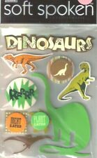 Dinosaurs Dinosaur Brontosaurus Rex Plant Meat Eater Mambi Stickers Scrapbook