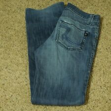 Rock and Republic Jeans Women's Stretch Button Fly 29 (Measures 29 x 33)