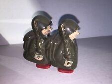 VINTAGE MARX HAP & HOP TOY RAMP WALKER 2 SOLDIERS