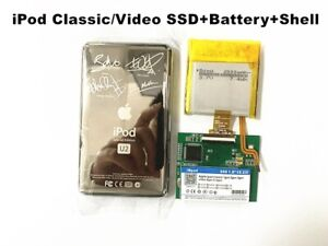 New SSD (128GB-1TB)For iPod Video/Classic 6 7th Gen Upgrade Replace Original HDD
