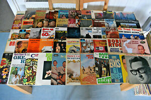 50 x LP Record Collection House Clearance Job Lot VINYL RECORDS