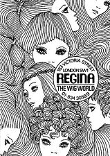 Regina Wig World A2 Hair Poster Vintage London History Litho Repro 1960s