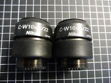2 x Nikon Okular C-W10xA/22