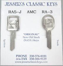 Very Rare Orignal AMC Keys 1985 1986 1987 1988 1989 NOS J Blank