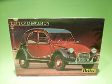 HELLER 80765 KIT (unbuilt) 1:24 CITROEN 2CV CHARLESTON -  GOOD CONDITION IN BOX