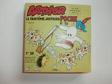 ARTHUR le fantome justicier poche N° 10 CEZARD VAILLANT  pif gadget 1966 TTBE