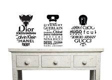 Womens, Ladies, Girls, Bedroom Perfume bottle vinyl wall art sticker Choice of 3