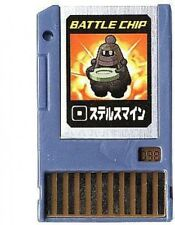 Capcom Mega Man Japanese PET Stealth Man Battle Chip #098