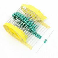 470uH 1 Watt 4-Color Ring Coating Epoxy Resin Fixed Inductors 100 Pcs