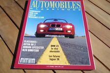 AUTOMOBILES CLASSIQUES n° 72 BMW 328i AUDI A4 MERCEDES C230K TRES BON ETAT