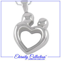 NEW ECN04 Eternity Collection Cremation Jewellery /'Red Flowers/' Necklace