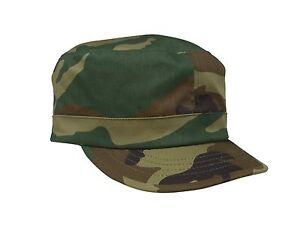 Women's Military Caps - Womans Black, Pink Camo Adjustable Fatigue Hats