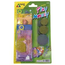 NEW Blister Pack of Big Australian Based Pretend Play Money  16 Notes & 20 Coins