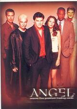 ANGEL SEASON 5 2004 INKWORKS SAN DIEGO COMIC CON PROMO CARD  A5-SD2004