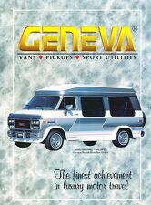 1993 1994 Chevrolet GMC Geneva conversion Van Truck Sales Brochure - Suburban