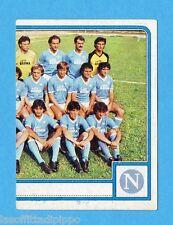 PANINI CALCIATORI 1983/84 -Figurina n.190- SQUADRA DX - NAPOLI -Rec