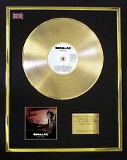 GORILLAZ THE FALL CD GOLD DISC LP FREE P+P!