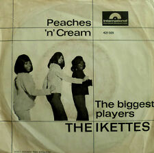 "7"" 1966 RARE VG + +! Ikettes (= Ike & Tina Turner) PEACHES 'N' Cream"