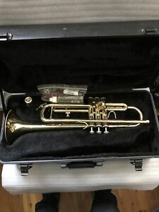 $UPER $ALE $$ BACH Aristocrat TR600 Student Bb Trumpet TR-600 & Case Great Horn