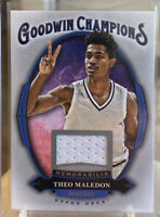 2020 Upper Deck Goodwin Champions Memorabilia Patch Theo Maledon Rookie RC