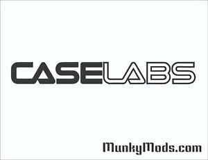 CaseLabs Logo Computer PC Case Window Applique Vinyl Decal (Color Choices)
