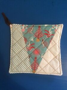 Quilted Pot Holder - Aussie Christmas #4