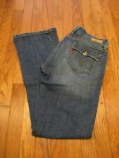 Levi's 542 Titled Flare Distressed Women's Jeans, Size 10