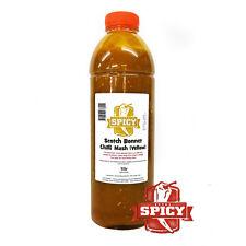 Chilli Sauce - Puree - Scotch Bonnet - Chilli Mash 1ltr Perfect for sauce making