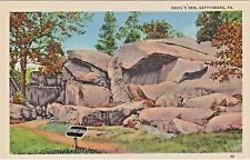 Devil's Den, Shelter for Confederate Sharpshooters in Civil War, Gettysburg, PA.