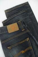 NUDIE STRAIGHT ALF ORG. DESERT WORN Men's W29/L32 Vintage Look Jeans 5348_mm