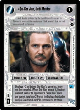 Qui-Gon Jinn, Jedi Master [played] REFLECTIONS III star wars ccg swccg gtc