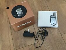 Rare Motorola V60i Flip Mobile Phone with original box and charger