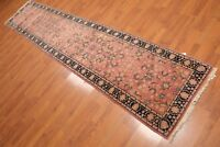 """2'6"""" x 11'10"""" Hand Knotted Romanian 100% Wool Oriental Area Rug Runner Rose"""