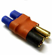C0082Z RC Connector Female EC3 to 5.5mm Gold Bullet Adapter Adaptor Direct
