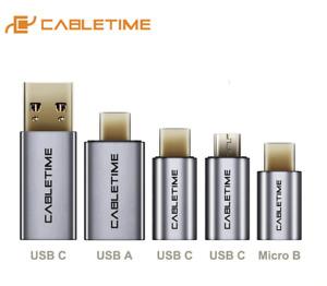 Premium USB Type C Adapters USB A 3.0 Micro | Male & Female OTG USB Host Adapter