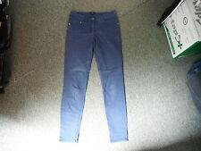 """H & M Slim Leg Jeans Taille 29"""" Bein 30"""" ausgewaschenes dunkelblau Damen Jeans."""