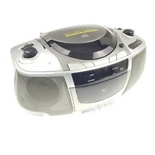 Broken Coby CX-CD250 Portable CD / Radio / Stereo Cassette Player/Recorder Box