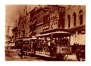 Indianapolis Trolley Car @ The Turn of the Century (Illinois-34th St.) Un-posted