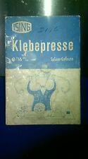 EUGEN ISING KLEBEPRESS FILM SPLICER for 8mm & 16mm