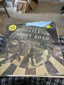The Beatles Abbey Road Sealed Picture Disc Record Album Import,Holland WOW CHEAP