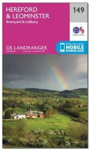 OS Landranger Map 149 Hereford & Leominster
