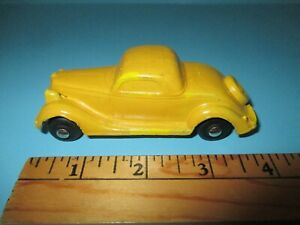 1935 35 Ford 3 Window Coupe - Rubber Toy no. BA01 by Barr Rubber Toy Co. Nice