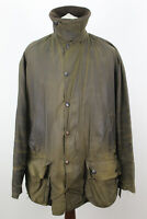 """BARBOUR Classic Beaufort Olive Wax Jacket Chest size 52"""""""