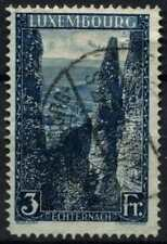 Luxembourg 1923-1934 SG#226a, 3f Blue P12.5 Used #D63794