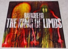 RADIOHEAD BAND SIGNED 'THE KING OF LIMBS' RECORD ALBUM W/COA X5 PROOF THOM YORKE