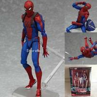 Marvel Figma Spiderman toys The Amazing spider man action figure Figma 199 toys