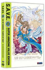 Ah! My Goddess: The Complete Second Season - S.A.V.E. (DVD, 2011, 4-Disc Set)