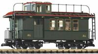 PIKO G SCALE WP&YR WOOD DROVERS CABOOSE 211 | BN | 38634