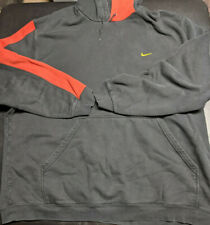 Nike MMIV Black Red Hoodie Workout Pullover Mens 3XL XXXL