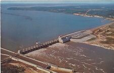 1950's/60's Postcard  - Jim Woodruff Lock and Dam, Chattachoochee River, Florida
